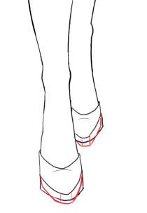 How To Draw Front View Shoes I Draw Fashion Shoes Drawing Drawing High Heels How To Draw Heels