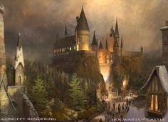Hogwarts heads to Los Angeles with The Wizarding World of Harry Potter at Universal Studios Hollywood Harry Potter World, Harry Potter Theme Park, Mundo Harry Potter, Harry Potter Bedroom, Harry Potter Movies, Harry Potter Hogwarts, Universal Orlando, Universal Studios, Universal City