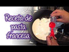 Receta elabora tu pasta francesa o porcelana fría , Cold porcelain recipe - YouTube Cold Porcelain, Clay Crafts, Pasta Recipes, Biscuits, Polymer Clay, Ceramics, Polymers, Diwali, Pasta