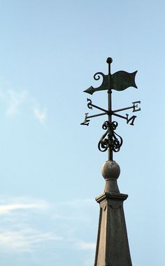 Town Hall Weather Vane | Flickr - Photo Sharing!