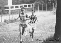Steve Prefontaine and Gerry Lindgren