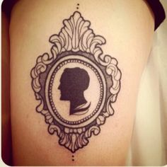 top silhouette cameo on images for pinterest tattoos