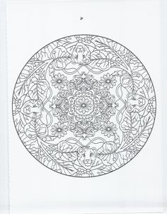 animal mandala - panther