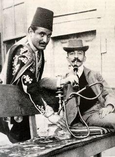 Pierre Loti ve hizmetkarı Hasan.