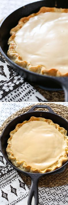 This easy recipe for Brown Sugar Cinnamon Pop-Tart Pie turns your favorite breakfast toaster pastry into a dessert! Delicious with store-bought crust or homemade!