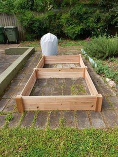 4ft x 8ft x 1ft Cedar Raised Garden Bed Cedar Raised Garden Beds, Raised Beds, Outdoor Planter Boxes, Planters, Gardening, Outdoor Decor, Etsy, Board, Products