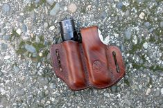 Always have your favorite multitool and flashlight close at your side with this handcrafted belt sheath for your Leatherman Surge or SuperTool 300 and 1 diameter flashlight. Made from thick, top quality vegetable tanned cowhide, this case is carefully hand molded for a perfect and secure fit. The edges have been hand dressed and burnished for a classic look. Built to last a lifetime, the look and feel of the leather will only improve with age as it takes on your character and personality…