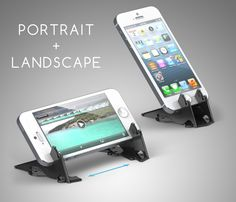 Pocket Tripod: 360° wallet-sized iPhone stand on Behance