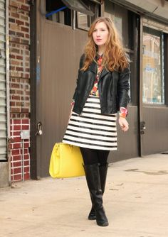 TfDiaries By Megan Zietz: Lulu's Style: Brights and Stripes