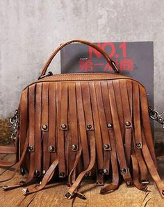 Handmade Leather handbag purse shoulder bag for women leather shopper bag