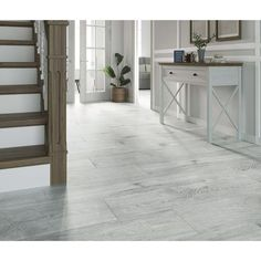 Tejos Grey Porcelain Wood Effect Floor Tile - Tiles from Tile Mountain Wood Effect Floor Tiles, Wall And Floor Tiles, Timber Planks, Light Oak, Grey Walls, Contemporary Style, Entryway Tables, Home And Family, Hardwood