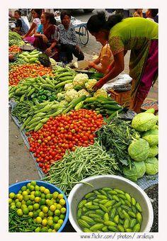 market, Pokhara, Nepal