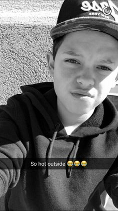 Lol Jacob if it's hot y r u wearing a hoodie but I can't blame him cause I do the same exact thing all the time♥️