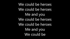 We are Heroes baby we are not like the rest of them baby we will never fit in with them so lets stop trying and be the real Heroes within us :)
