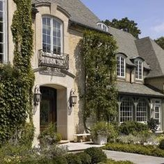Windows & faux Juliet - traditional exterior by Morgante Wilson Architects