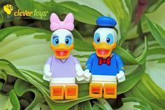 "Daisy Duck: ""It must be destiny. Good thing destiny doesn't control my love life. Daisy Duck, Lego Disney, Destiny, My Love, Life, Fictional Characters, Fantasy Characters"