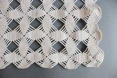 a crochet table runner