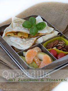 LeckerBox #98: Quesadilla mit Zucchini, Tomaten und Käse…