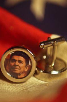 Buffalo Jackson Ronald Reagan Cuff Links