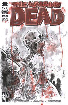 Ben Templesmith covers the Walking Dead #TWD #WalkingDead