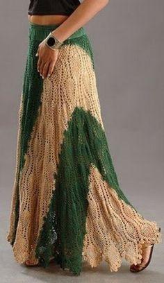Delicadezas en crochet Gabriela: Faldas en crochet varios diseños