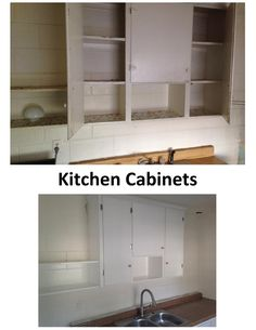 kitchen and bath cabinets by giving them a brand new look!