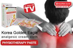 Redakan Rasa Nyeri & Pegal Di Otot Tubuhmu Dengan Korea Golden Eagle Physiotherapy Paste Hanya Rp.25,000/box - www.evoucher.co.id #Promo #Diskon #Jual  Klik > http://www.evoucher.co.id/deal/Sehat-dengan-Korea-Golden-Eagle-Physiotherapy-Paste  Korea Golden Eagle Physiotherapy Paste menghilangkan pegal-pegal yang dirasakan tubuh dan melancarkan sirkulasi darah. Cara menggunakannya pun mudah, cukup tempelkan lapisan perekat dan produk langsung bekerja dengan cepat  Pengiri