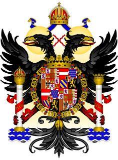 Charles (Carlos) Ier de Habsbourg (Gand, 25 février 1500 - Yuste, 21 septembre 1558) Archiduc d'Autriche Prince de Gérone (1516), Prince des Asturies, Prince de Viane, Duc de Montblanc, Comte de Cervera, Seigneur de Balaguer, (1504) puis Roi Charles Ier de Castille et Léon (1516-1556, conjointement avec sa mère jusqu'en 1555), de Galice (1516-1556, conjointement avec sa mère jusqu'en 1555), de Tolède (1516-1556, conjointement avec sa mère jusqu'en 1555), de Séville (1516-1556, conjointement…