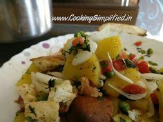 Grilled Pineapple Salad - Cooking Simplified by Rajiv Jindal Pineapple Salad, Cook N, Garlic Paste, Cooking Together, Coriander, Food Preparation, Baked Potato, Potato Salad, Grilling