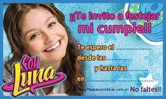 Tarjeta de cumplea�os de soy-luna Soy Luna Logo, Sister Birthday, Happy Birthday, Letter Collage, Ideas Para Fiestas, Son Luna, Holidays And Events, Party Themes, Baby Shower