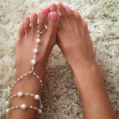 1 PC Bridal Barefoot Sandals Pearl Multi-Layer Anklet Wedding Beach Foot Jewelry 1K3022