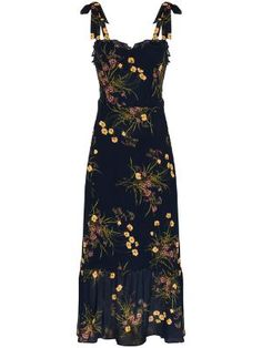 Check out Reformation with over 7 items in stock. Shop Reformation Nikita floral print dress today with fast Australia delivery and free returns. Day Dresses, Blue Dresses, Dress Outfits, Casual Dresses, Dress Up, Cute Outfits, Summer Dresses, Dress Collection, Pretty Dresses