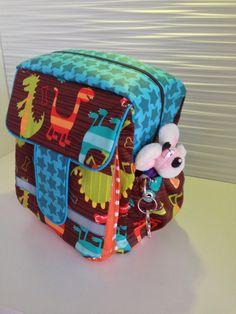 "Kindergartenrucksack ""Rudi"" (Schnitt: Lillesol & Pelle)"