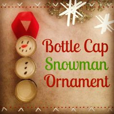 A little ribbon & glue provide the perfect festive reuse of our screw tops!