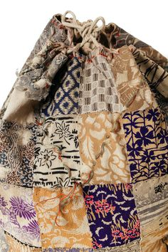 Silk Patchwork Komebukuro, Bag For Temple Offering or Gifts