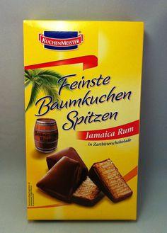 1x Kuchenmeister Baumkuchen Spitzen Jamaica Rum á 125g (100g/2,39€)
