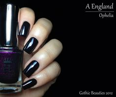 "Fashion Polish: A England ""The Gothic Beauties"" Collection...Ophelia"