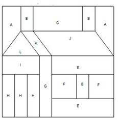 little red schoolhouse quilt block pattern | 11. Little Red Schoolhouse: Lucy Stone
