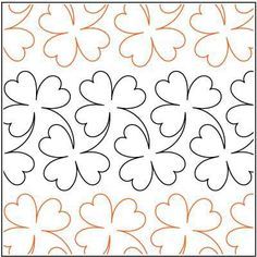Trinity - Paper -7  - Quilts Complete - Continuous Line Quilting ... : paper pantograph quilting patterns - Adamdwight.com
