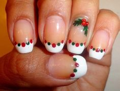 Christmas DIY Nail Art Design Tutorials | NAIL PIXIIE http://nail.pixiie.net/2013/11/christmas-diy-nail-art-design-tutorials.html