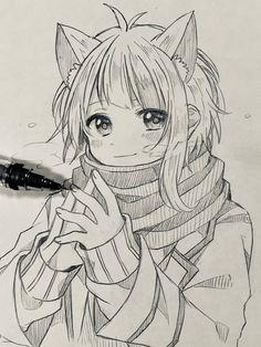 Naruto Drawings, Cute Cartoon Drawings, Anime Drawings Sketches, Anime Sketch, Otaku Anime, Anime Art, Boy Sketch, Anime Crying, Boy Drawing