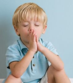 Simple prayer routines can help children build confidence as they learn how to talk to God. Teach them to pray in their own words. I like this.