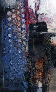 Spiritual Passage  ...Original Very Textured Painting by Kathy Morton Stanion