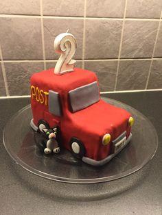Postman pat cake (with help from @mthorbjornsrud)