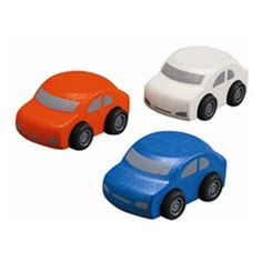 Plan Toys Family Cars  (1Set@3Pcs) * This is an Amazon Affiliate link. Details can be found by clicking on the image.
