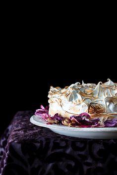 Lemon & Poppy Seed Meringue Cake at Cooking Melangery