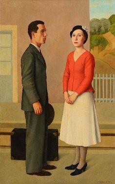 Antonio Donghi - L'attesa (Waiting), 1933