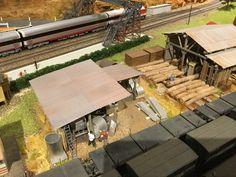 Tank making shed