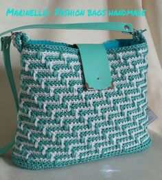 Handmade crochet bag, a clutch. Crochet Clutch, Crochet Handbags, Crochet Purses, Crochet Bags, Crotchet Patterns, Knitted Bags, Fashion Bags, Crochet Projects, Purses And Bags