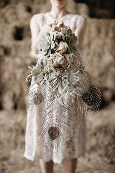 Art Deco inspired Bouquet